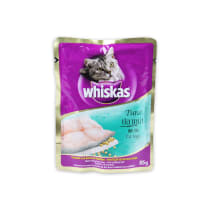 WHISKAS POUCH CAT FOOD TUNA 85 GR