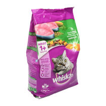 WHISKAS DRY FOOD TUNA 1.2 KG