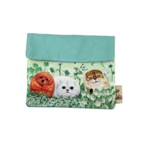 HENRY CATS AND FRIENDS POUCH SERBAGUNA HIDE & SEEK