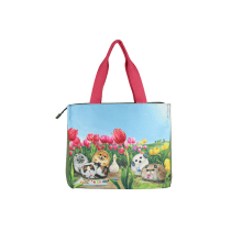 HENRY CATS & FRIENDS TOTE BAG TULIP