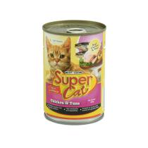 SUPER CAT CHICKEN TUNA 400 GR