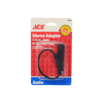 ACE STEREO ADAPTOR JACK 6.3 MM TO 3.5 MM