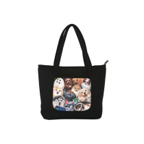 HENRY CATS & FRIENDS TOTE BAG DOGS - HITAM