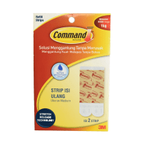 3M COMMAND STRIP ISI ULANG WATERPROOF MEDIUM