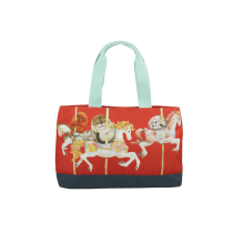 HENRY CATS & FRIENDS TOTE BAG CIRCUS DE HENRY A