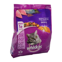 WHISKAS POCKET DRY FOOD MACKEREL 480 GR