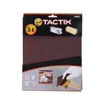 TACTIX SET AMPLAS 80 GRIT 280X230MM 5 PCS