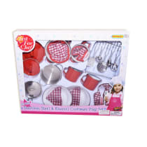 JUST FOR CHEF SET PERALATAN MASAK (26) - MERAH