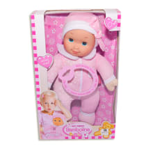 BAMBOLINA MY FIRST DOLL KISSING SOUND - MERAH MUDA