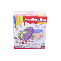 PAINT YOUR DREAM WORLD JEWELLERY BOX