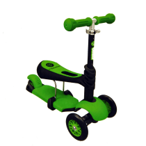 YVOLUTION SKUTER YGLIDER 3IN1 - HIJAU