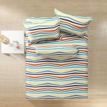 LINOTELA SET SPREI STRIPES 180X200X35 CM