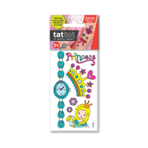 TATTOT STIKER TATO TEMPORARY SMALL - PRINCESS