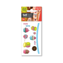 TATTOT STIKER TATO TEMPORARY SMALL - CHARM FUN