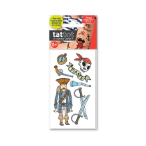 TATTOT STIKER TATO TEMPORARY SMALL 69523 - PIRATE