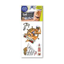 TATTOT STIKER TATO TEMPORARY SMALL 69546  - NAUTICAL