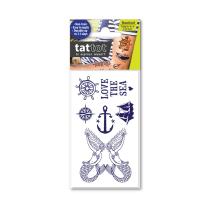 TATTOT STIKER TATO TEMPORARY SMALL 69547 - NAUTICAL
