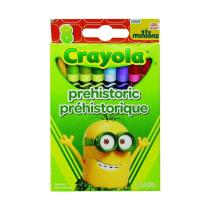 CRAYOLA MINIONS PRE HISTORIC CRAYON 8 PCS
