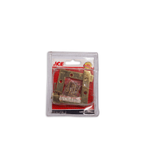 ACE BRAKET SUDUT KUNINGAN FLAT 2.5X0.5 INCI