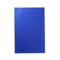 KESET PVC MOTIF 50X70 CM - BIRU