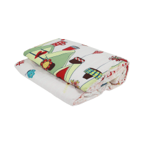 TWO WAY QUILT KIDS LOVELY TOWN 160X210CM