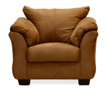 ASHLEY DARCY SOFA 1 DUDUKAN - COKELAT