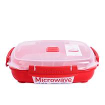 SISTEMA MICROWAVE PLATE 880 ML - MERAH