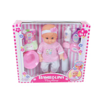 DIMIAN SET BONEKA BAYI 8 IN 1 36 CM