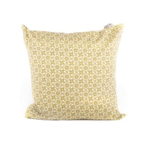 GLERRY HOME DECOR BANTAL SOFA YELLOW GROOVE 45X45 CM