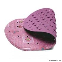 LUCKY BABY KESET MANDI ANTI SLIP 26X43CM PRINT - PINK