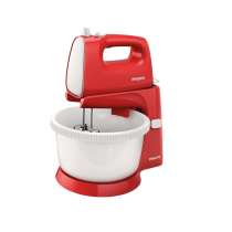 PHILIPS HR 1559 STANDING MIXER - MERAH