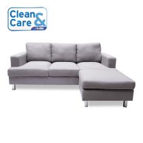 CLEAN & CARE PAKET JASA PEMBERSIHAN SOFA BENTUK L 3 DUDUKAN