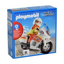 PLAYMOBIL EMERGENCY MOTORCYCLE DENGAN LAMPU