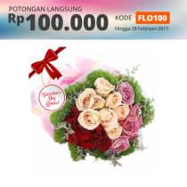 FLOWER ADVISOR BUNGA HAND BOUQUET VENICE ADVENTURE