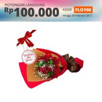 FLOWER ADVISOR HAND BOUQUET DEEP LOVE