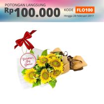 FLOWER ADVISOR HAND BOUQUET FLEUR THE SUN