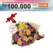 FLOWER ADVISOR HAND BOUQUET FRUITY KISS