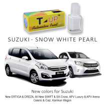 T-UP CAT OLES DEEP SCRATCH REMOVER - SUZUKI SNOW WHITE PEARL