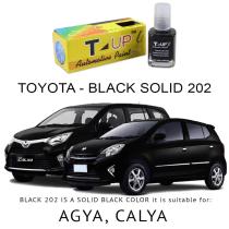 T-UP CAT OLES PENGHILANG GORESAN & BARET (DEEP SCRATCH) TOYOTA - BLACK 202 SOLID