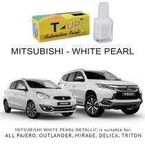T-UP CAT OLES PENGHILANG GORESAN & BARET (DEEP SCRATCH) MITSUBISHI - WHITE PEARL