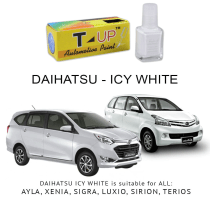 T-UP CAT OLES PENGHILANG GORESAN DAIHATSU - ICY WHITE