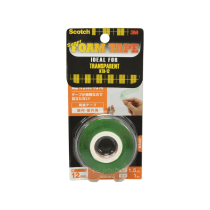 SCOTCH DOUBLE SIDED FOAM TAPES - TRANSPARAN