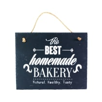 HIASAN DINDING NATURAL BEST HOMEMADE BAKERY 25 X 20 CM