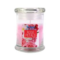 TWILIGHT ROSE CANDLE JAR  - PINK