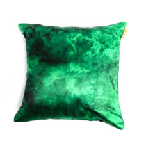GLERRY HOME DECOR BANTAL SOFA GREEN EMERALD 40X40 CM