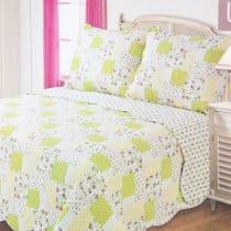 BED COVER 240X210 CM NT53 - HIJAU