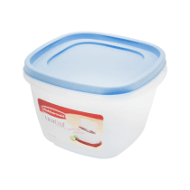 RUBBERMAID EASY FIND LID WADAH MAKANAN 7 CUP - BLUE