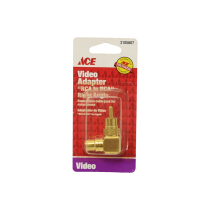 ACE ADAPTOR VIDEO RCA RIGHT ANGLE