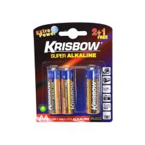 KRISBOW ALKALINE BATERAI UKURAN AA 2+1 PCS
