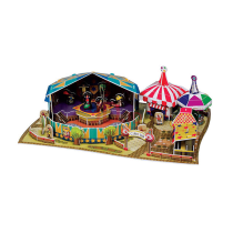 SCHOLAS 3D PUZZLE POP OUT WORLD EXCITING CIRCUS AND PIERROT